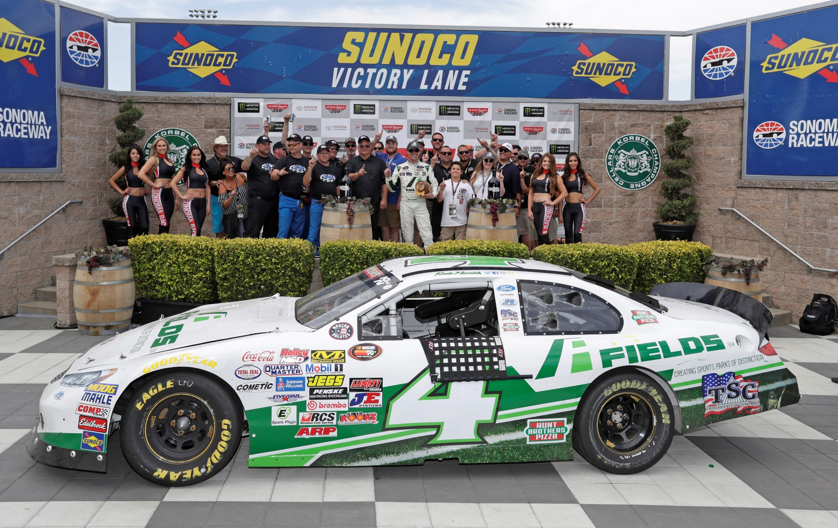 After A Successful Partnership This Year FIELDS Is Excited To Announce It Will Continue Sponsor NASCAR Driver Kevin Harvick During The 2018